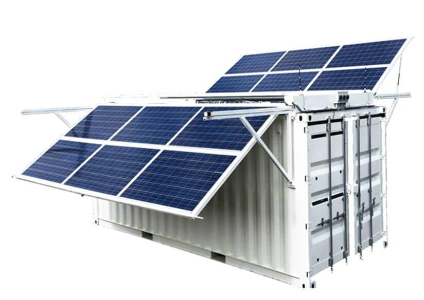 rental solar power station